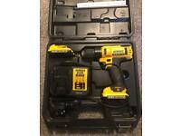 Dewalt drill 10.8v with batteries
