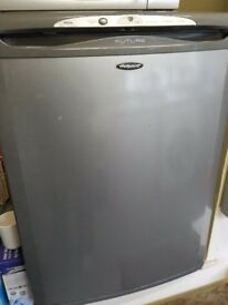 A fridge and freezer