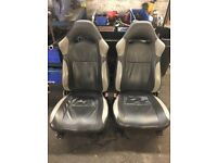 Subaru leather seats
