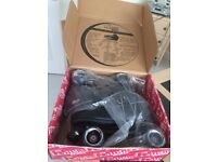Roller Boots Quad Rock Sure Grip and all the protective gear - Brand New