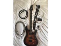 Ibanez S621QM Dragon Eye Burst electric guitar