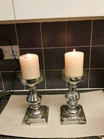 Set of candles holders
