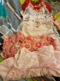 Newborn girls dress bundle