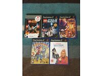 PlayStation 1 (3 games) & Playstation 2 (5 games) for sale