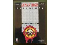 Guns n Roses guitar + vocal music anthology