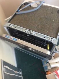 Electrolux built in dishwasher