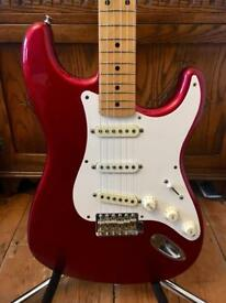 1989 Fender Japan Vintage Stratocaster – Candy Apple Red