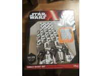 Star Wars force awakens storm trooper single bedding