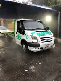 Ford transit recovery mk7 face lift private plate
