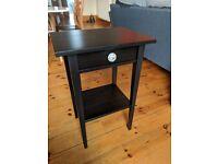 IKEA Bedside Table - Hemnes model, black