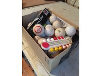 Assorted Used practice Golf Balls