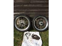 Wr 450 Crf 450 supermoto wheels