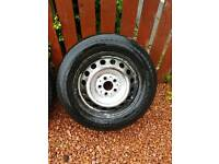 Mercedes vito 16inch steel wheels