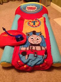 Thomas the Tank inflatable travel bed