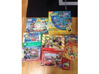 Selection of jigsaws for kids