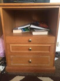 2 Bed side tables for sale