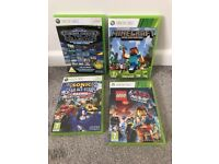 Xbox 360 games minecraft Lego movie sonic all star mega drive collection