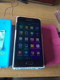 Samsung Galaxy A3 in prestige condition on virgin
