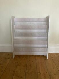 Bookcase (fabric sling pockets for children's books)