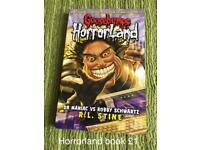 Horrorland book goosebumps