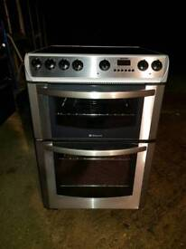 Hotpoint EW86X electric cooker 60cm