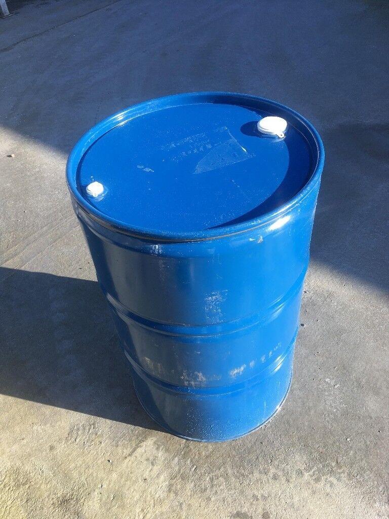 200l oil drum with detachable lid.