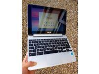ASUS Chromebook Flip 10.1 C100P | 16GB SSD | 4GB RAM | Touchscreen | Case | Like New | RRP £250