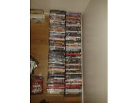 job lot DVDs over 100. some new. boxset etc film. carboot.