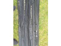 Shakespere Mustang carp rods