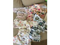 Little Bloom reusable pocket cloth nappies with inserts - unused