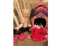 build a bear teddy and accessories