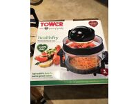 Brand new in box.17 litre Tower Healthfry. Low fat air fryer.