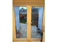 White uPVC Double Glazed Patio Doors 1700x1900mm