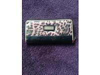 Lousy London wallet leopard print