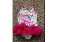 6-9 month peppa pig swimming costume