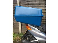 motorcycle scooter pizza delivery box -thermo box - ( 130 lt) blue colour