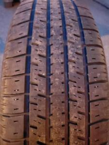 4 PNEUS ETE - UNIROYAL 185 70 14- SUMMER TIRES