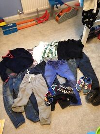 Boys clothes age 4-5 Next, M&S and John Lewis
