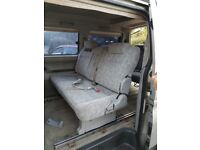 mazda bongo 8 seater campervan rock n roll bed elevated roof cooker sink 4wd auto diesel 1987 vgc