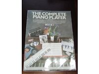 The Complete Piano Player Book 1 by Kenneth Baker