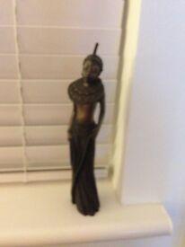 "Bronze Figure Soul Journeys Maasai ""Little Treasure"""