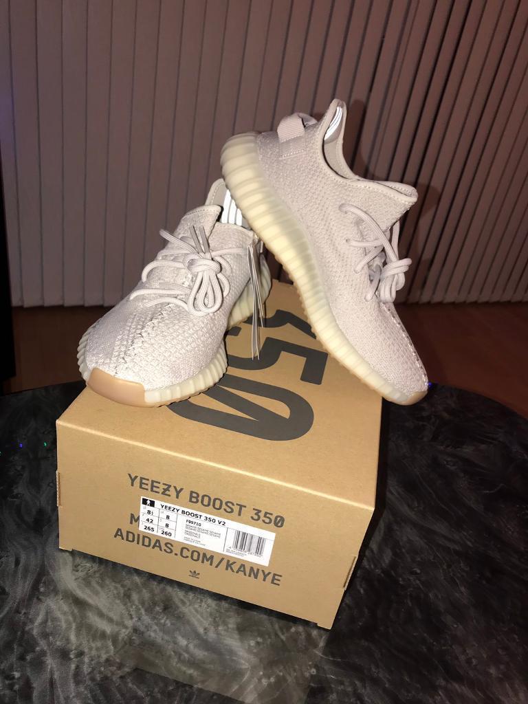 2ffbc1e7c6d7fd Adidas Yeezy Boost 350 V2 Sesame UK Size 8