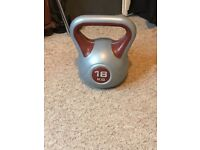 York Fitness Vinyl Kettlebell (18kg)
