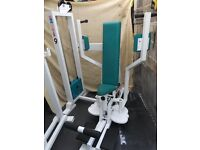 FULL COMMERCIAL pec deck machine PANATTA with weights stack