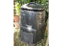 Black plastic Eco max Compost Bin