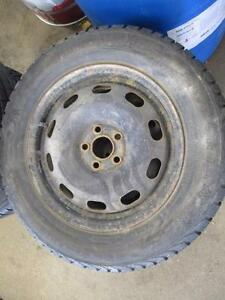 195/65R15 GISLAVED NORD FROST 5 WINTER RIMS AND TIRES