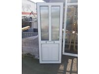 uPVC DOOR AND FRAME USED BUT GOOD CONDITION