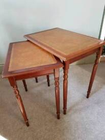Traditional nesting tables