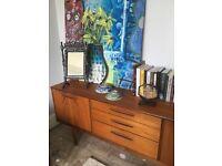 Midcentury wood sideboard/credenza