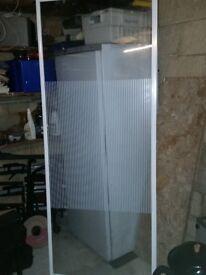 Glass shower screen panel